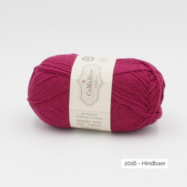 Une pelote de Okologist Sommeruld de CaMaRose coloris Hindbaer