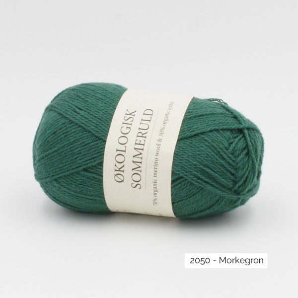 Une pelote de Okologist Sommeruld de CaMaRose coloris Morkegron