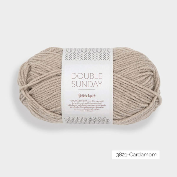 Une pelote de Double Sunday de Sandnes Garn coloris Cardamom