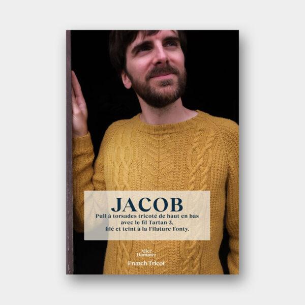 Présentation du pull Jacob, patron de tricot du livre French Tricot d'Alice Hammer