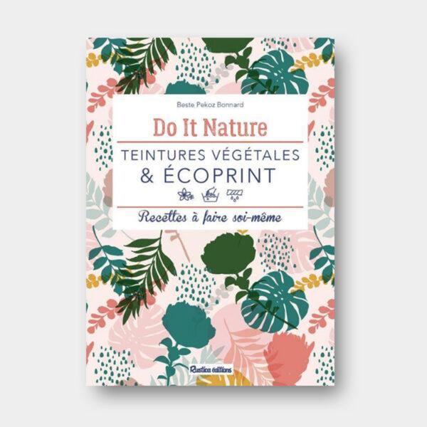 Couverture du livre Teintures Végétales et Ecoprint