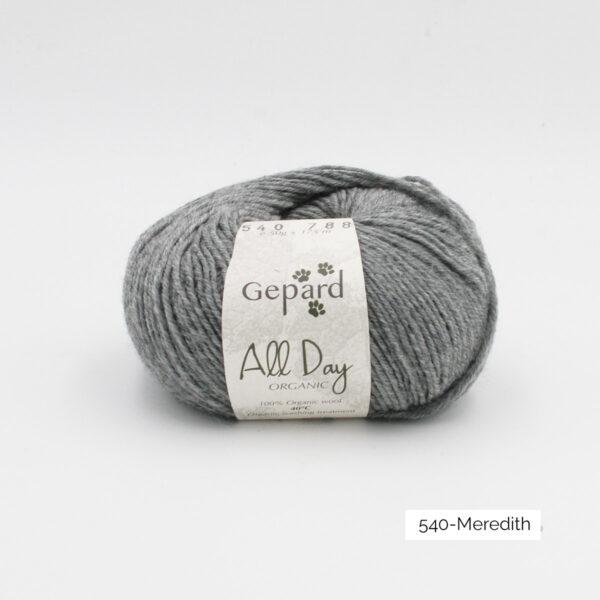 Une pelote de All Day Organic de Gepard Garn dans le coloris Meredith